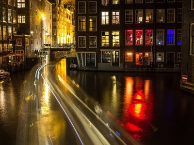 Cycling in the Red Light District