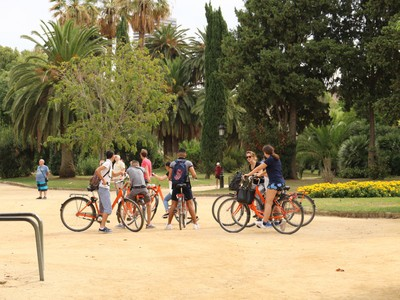 Cycling around Ciutadella