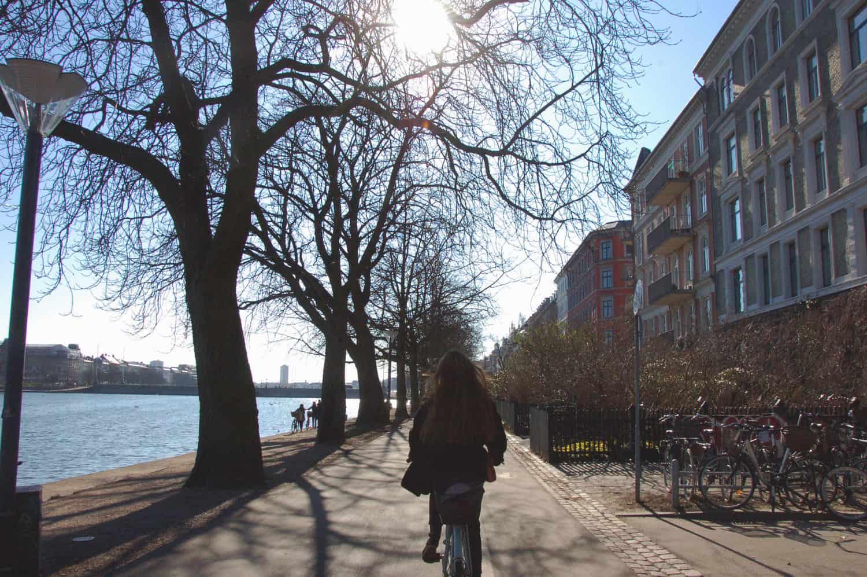 Biking along the lakes is never a bad idea. It's a beautiful idea - literally.
