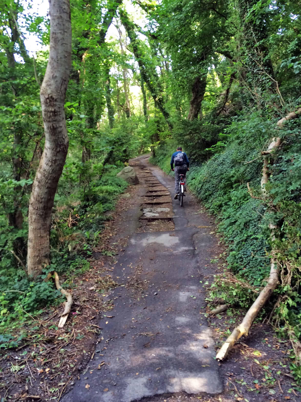 Off-road bike ride