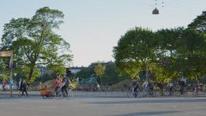 Copenhagen's cyclists