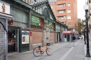 Donkey bike tour in Barcelona, Mercat de la Llibertat