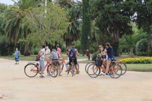 Bike tour in Parc de la Ciutadella, Barcelona