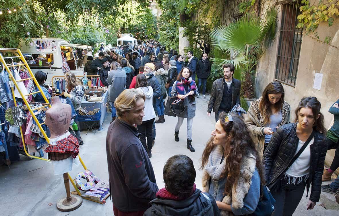 Barcelona bike tour, Palo Alto market