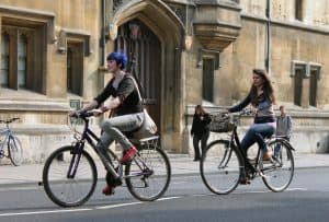 Bikes in Oxford