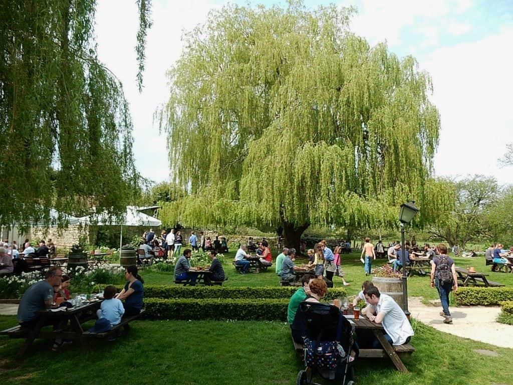 The Perch Beer Garden. Photo credit: Michael Coghlan (CC0)