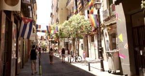 Bike on Madrid's streets
