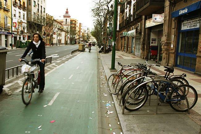 Cycling City Seville