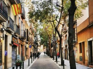 Barcelona Barrios - Carrer Verdi in Gràcia