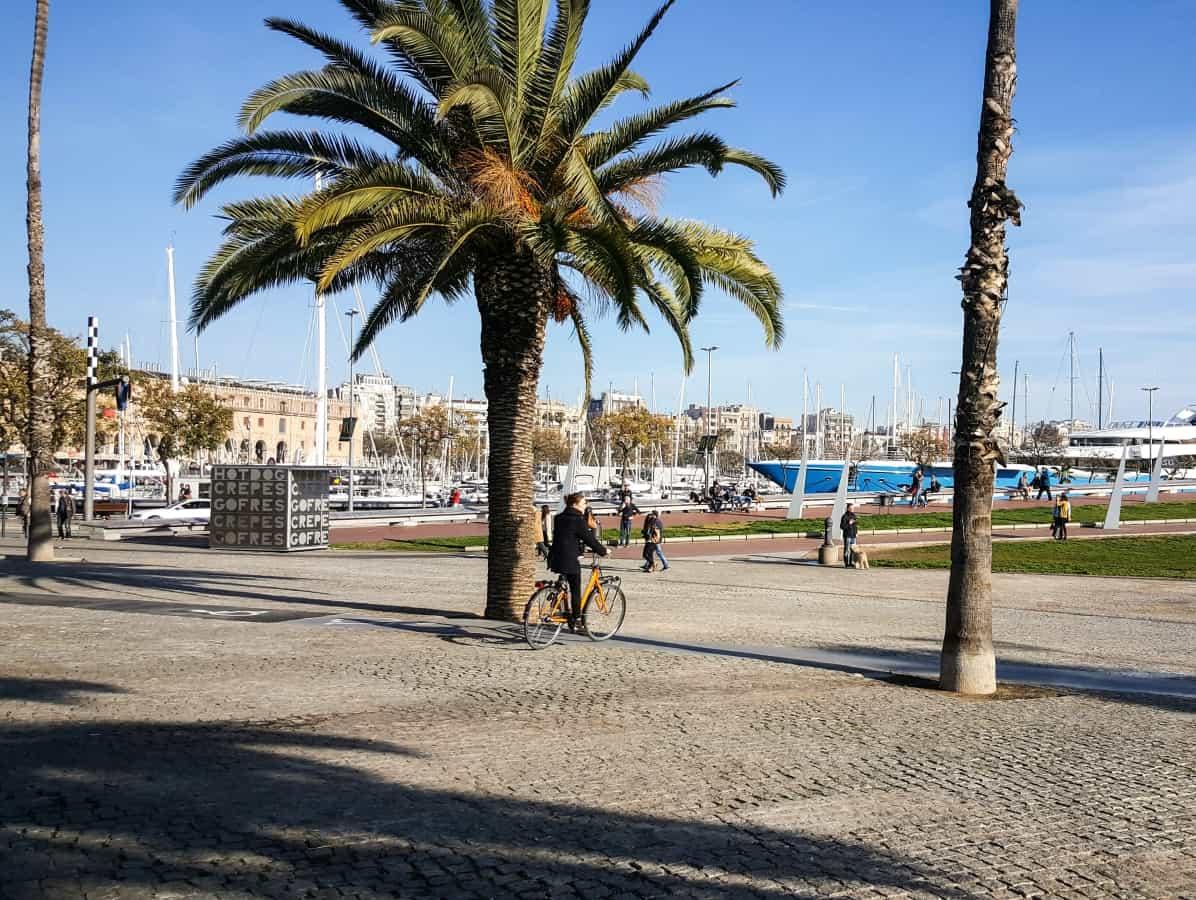 The beaches in Barcelona - La Barceloneta