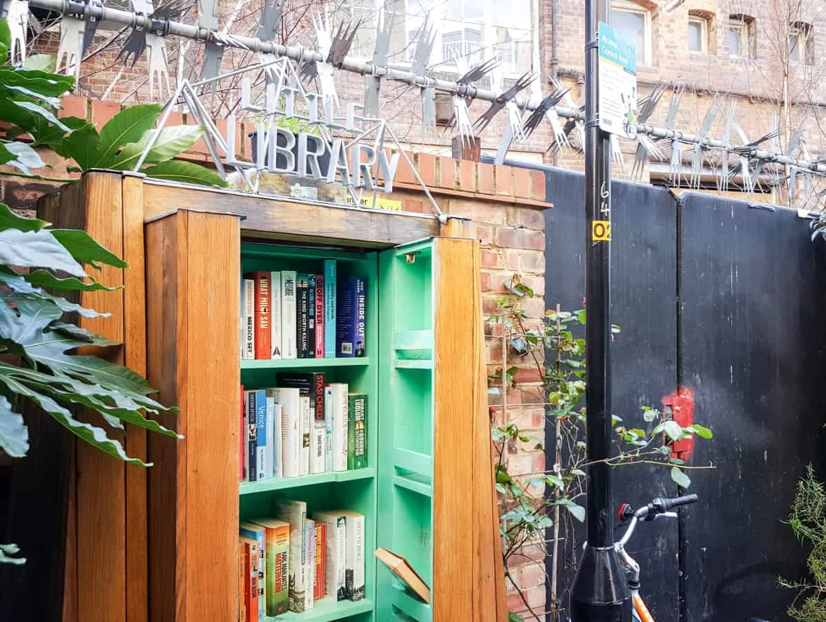 Hidden London - Library in Gibbon's Rent