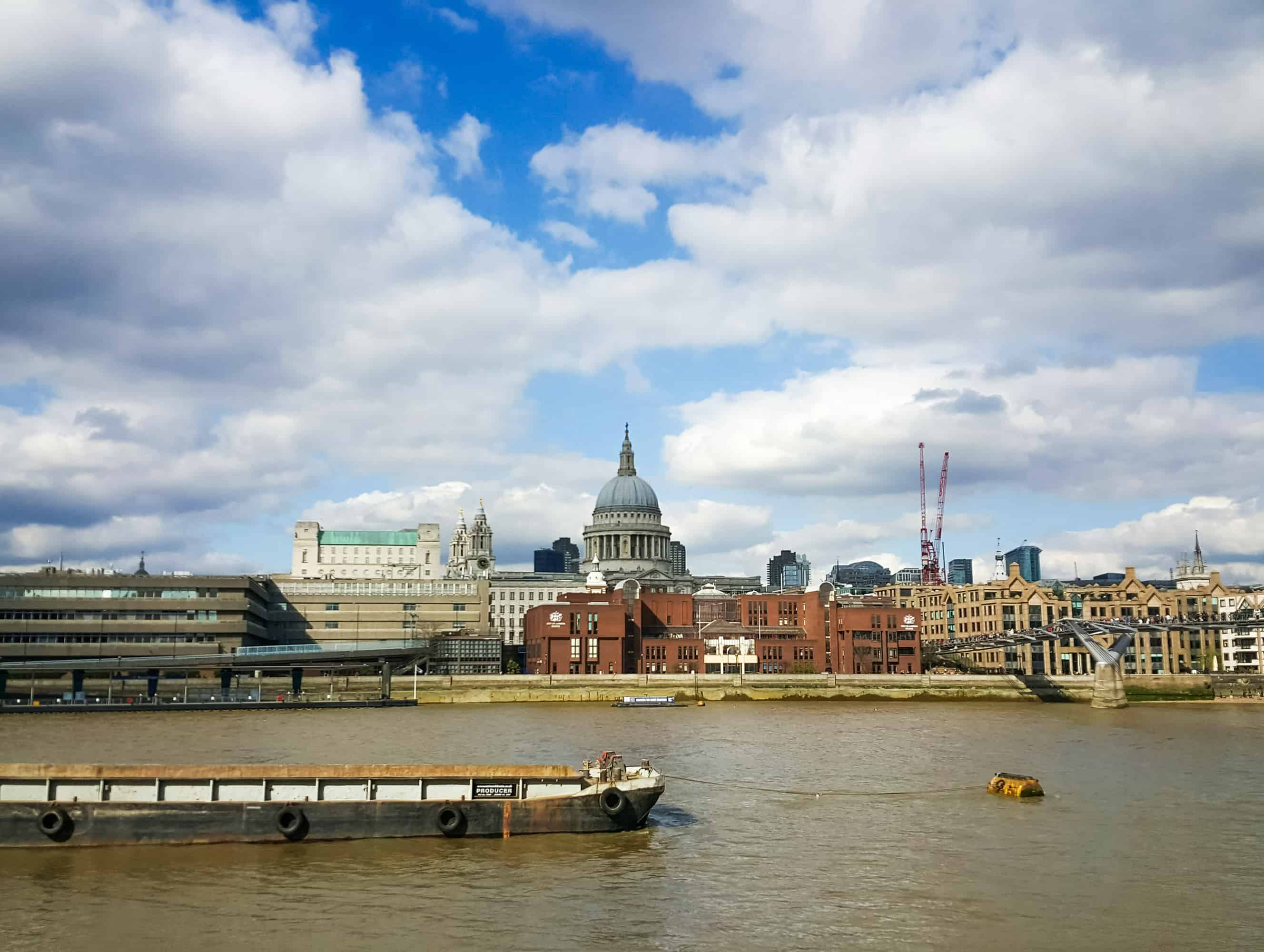 Hidden London - St Paul's Cathedral from across the Thames
