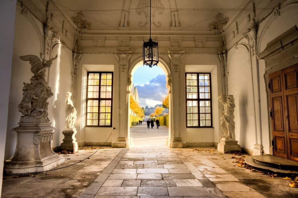Vienna Belveder entry