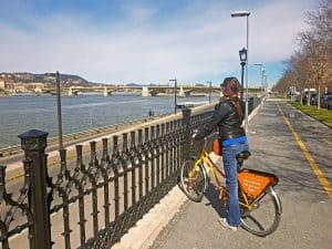 budapest bridges donkey republic