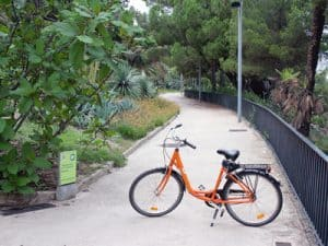 Bike rental Montjuic