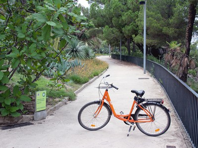 Cycling around Montjuïc