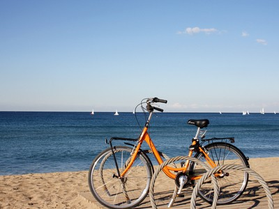 Cycling in Barceloneta