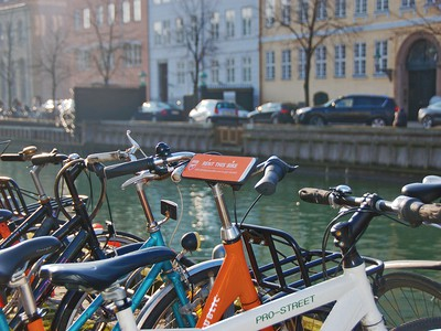 Cycling in Christianshavn