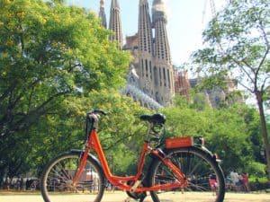 Bike Rental Sagrada Familia