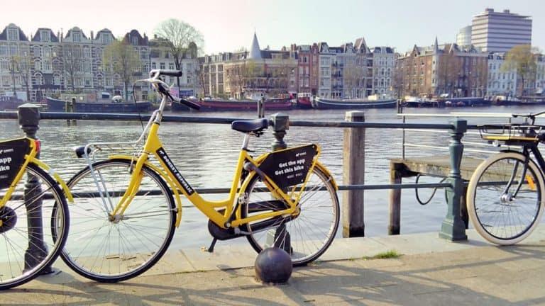 Bike Rental in Amsterdam Donkey Republic