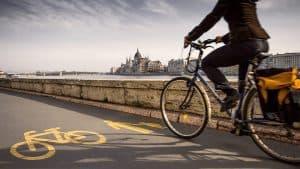 Bicikli út Budapesten