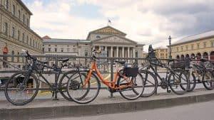 Rental bike in Munich