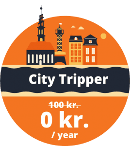 City Tripper bike share membership Copenhagen
