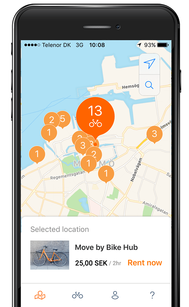 Malmö bike-share membership