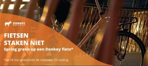 bicycle guy offer donkey republic dutch