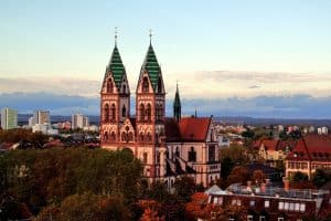 Freiburg oldtown