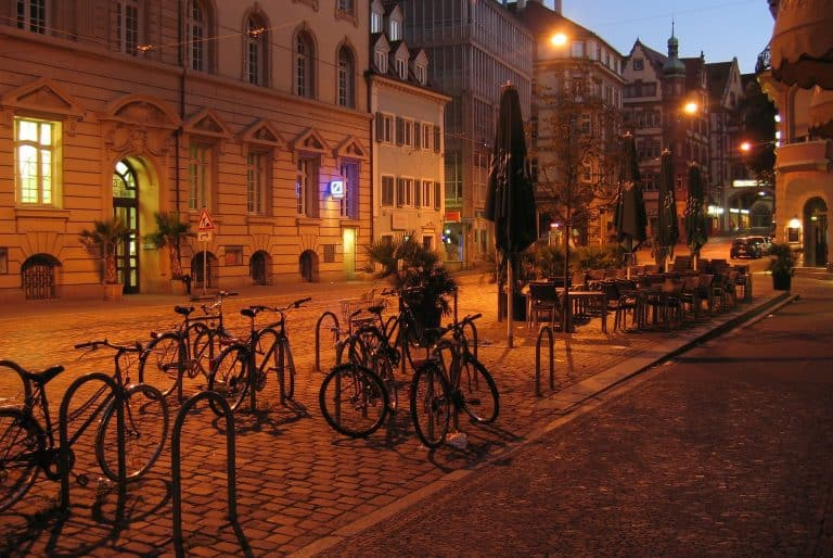 Cycling to other neighbourhoods of Freiburg