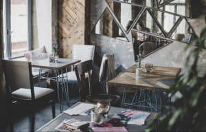 Cosy cafe