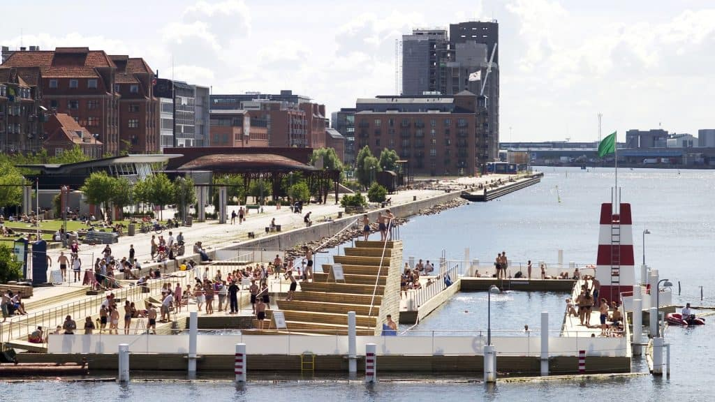 Harbour pool at Islands Brygge