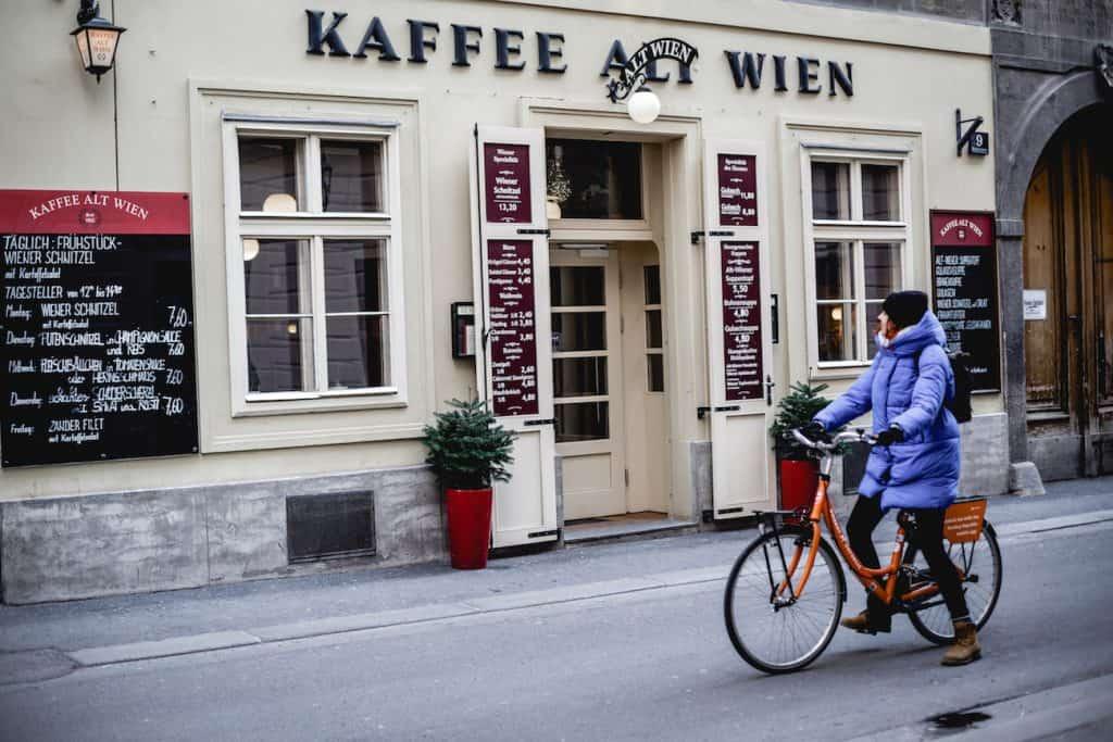 Donkey Republic bike rental Vienna