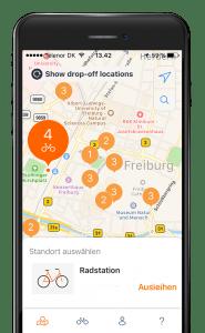 Freiburg Bike-Sharing Mitgliedschaft