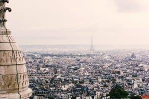 Paris view from Sacré-Cœur