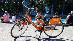 Budapest MyCityHighlight Donkey Republic bikes