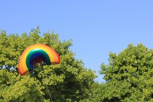 gay pride balloon