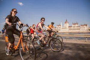 bike ride, group of people biking