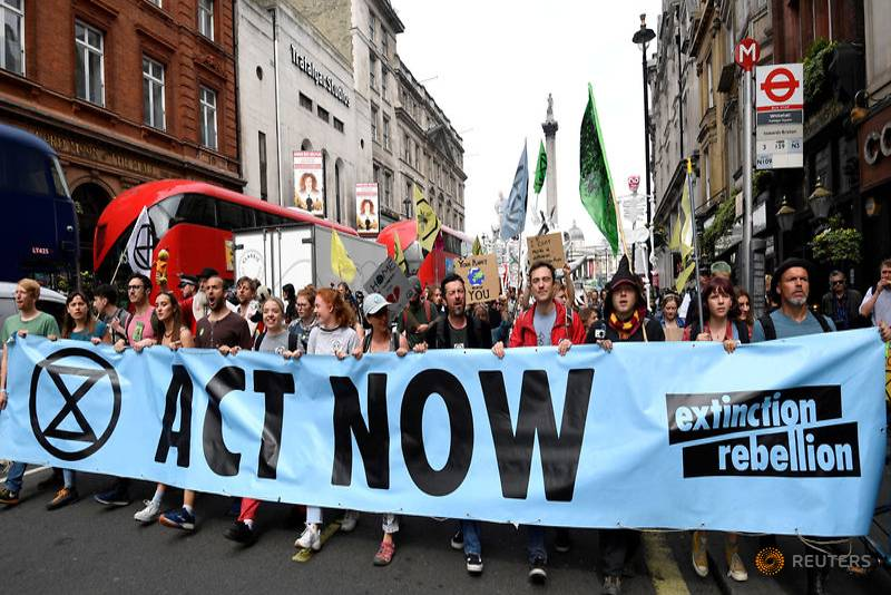 Extinction Rebellion protest