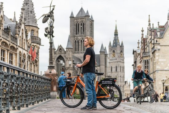 Biking in Ghent – Guide to get around on two wheels