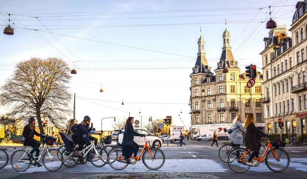 Copenhagen Donkey Republic bike-share permits