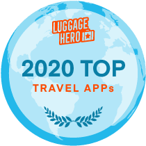 2020 travel app best badge