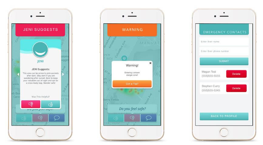 best travel app - wandersafe